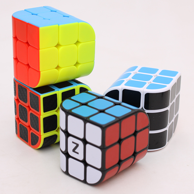 ZCUBE 3x3x3 Penrose Cube Curve Cubo 3x3 56mm Magic Cube Puzzle Speed Professional Learning Educational Cubos Magicos Kid Toys