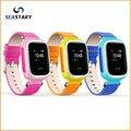 Новый Малыш GPS Smart Watch Наручные Часы SOS Вызова Расположение Finder Locator устройство, Трекер для Kid Safe Anti Потерянный Монитор Младенца Подарок Q60