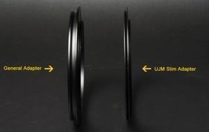 "Image 5 - Metal Aluminum 100mm Filter Holder + 52/55/58/62/67/72/77/82mm Slim Adapter Ring for Lee Hitech Haida Cokin 4X4""/5.6/5 Filters"