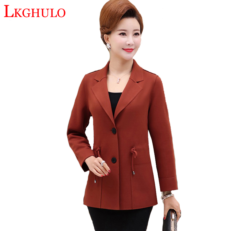Color Green Fashion aged Single Ladies Middle Suit And Blazers Blazer 2018 Jackets army Autumn A765 Lkghulo rice Button Mother Femenino Caramel AqwRUCx