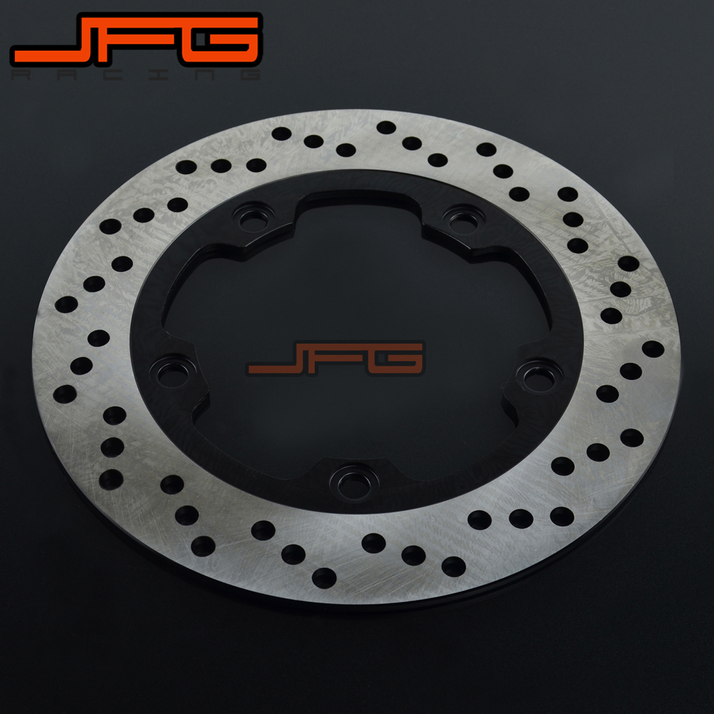 Motorcycle Rear Brake Disc Rotors For GW250 GSR400 GSR600 GSF650 GSF GSX 650 1250 GSX650 SFV650 SV650 GSR750 GSF1250 ABS GSX1250 motorcycle rear brake disc rotors for suzuki gsx1300r 08 15 correspondence year universal