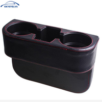 Car Cup Holder Interior Car Organizer Portable Auto Vehicle Seat Cup Cell Phone Drink Holder Box Car Styling Box
