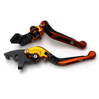 Adjustable Brake Clutch Levers Folding Extendable for Honda CB599 CB919 CBR 600 CBR 999RR VTX1300 NC700 S/X