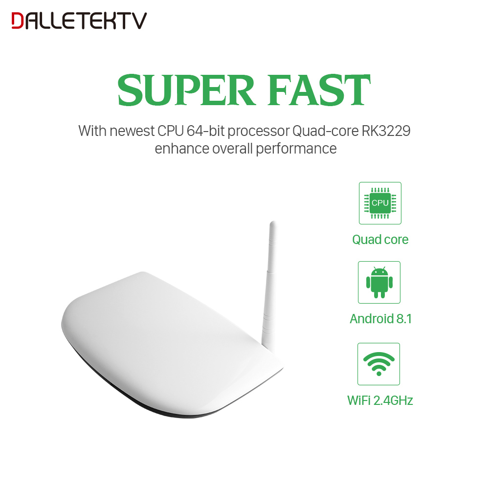 Image 3 - QHDTV Code IPTV Subscription France TV Box RK3229 Android 8.1 H.265 Decoder IPTV Arabic QHDTV Belgium IPTV Subscription 1 Year-in Set-top Boxes from Consumer Electronics