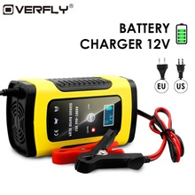 Universal 6A 12v Intelligent Smart Motorcycle Car Battery Pu