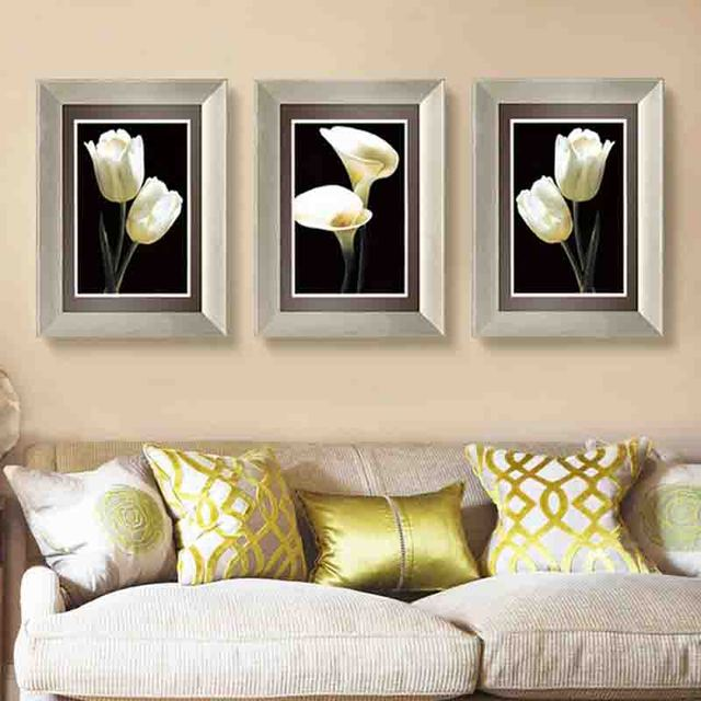 American Style Beautiful Flowers Graceful And Dignified Sweet Artistic  Beauty Art Picture Canvas Posters For Home