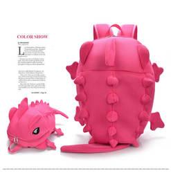 2017 мода рюкзак женщины 3D монстра, динозавра с школьные сумки для подростков девочек Дорожная сумка Mochila Infantil высокого качества