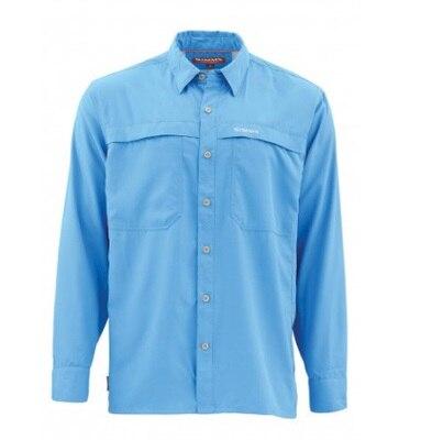 2019 Sim s Men Fishing Shirt LS Shirt Fast Dry UPF50 UV Fishing Clothing Shirts Mens
