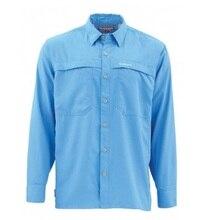 Sim* s Мужская рыболовная рубашка LS рубашка быстросохнущая UPF50 УФ рыболовная одежда рубашки мужские s Camisa Masculina плюс размер США S-3XL