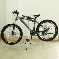 Heavy Duty Universal Outdoor Aluminium Bike Bicycle Repair Stand Durable Cycling Maintenance Mechanic Repair Stand Holder