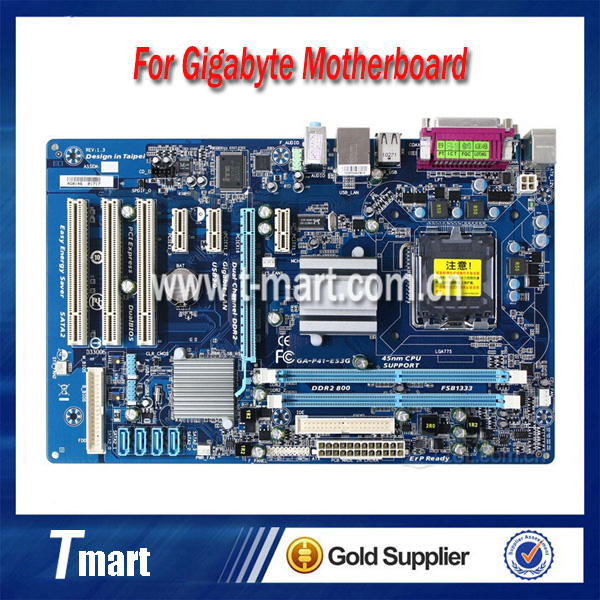 100% working Desktop motherboard for GA-G41MT-S2 System Board fully tested original for ga ma78lm s2 desktop motherboard 940pin am2 am3 ddr2 100% tested