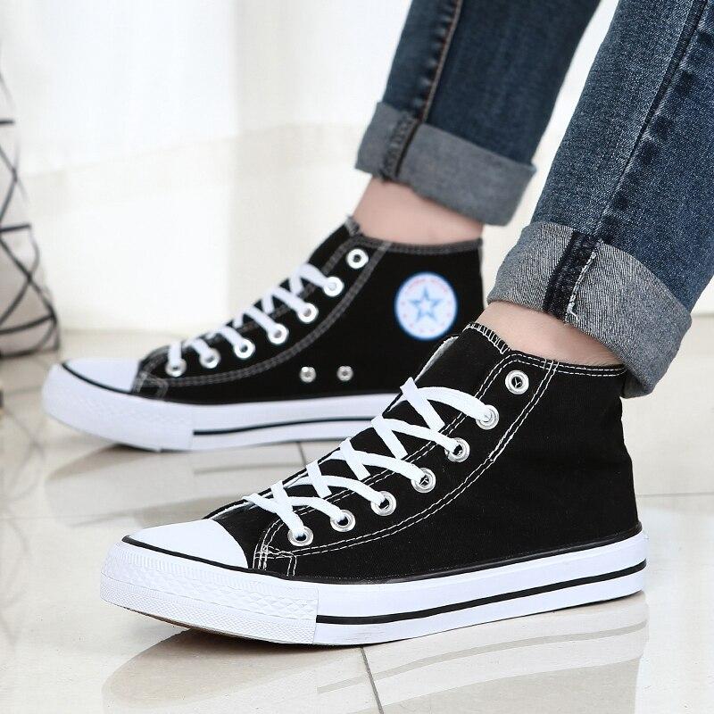 NORTHMARCH Canvas Shoes Men Classic High Top Sneakers Espadrilles Men Breathable Flat Shoes Men Tenis Casual Couple Shoes Sapato