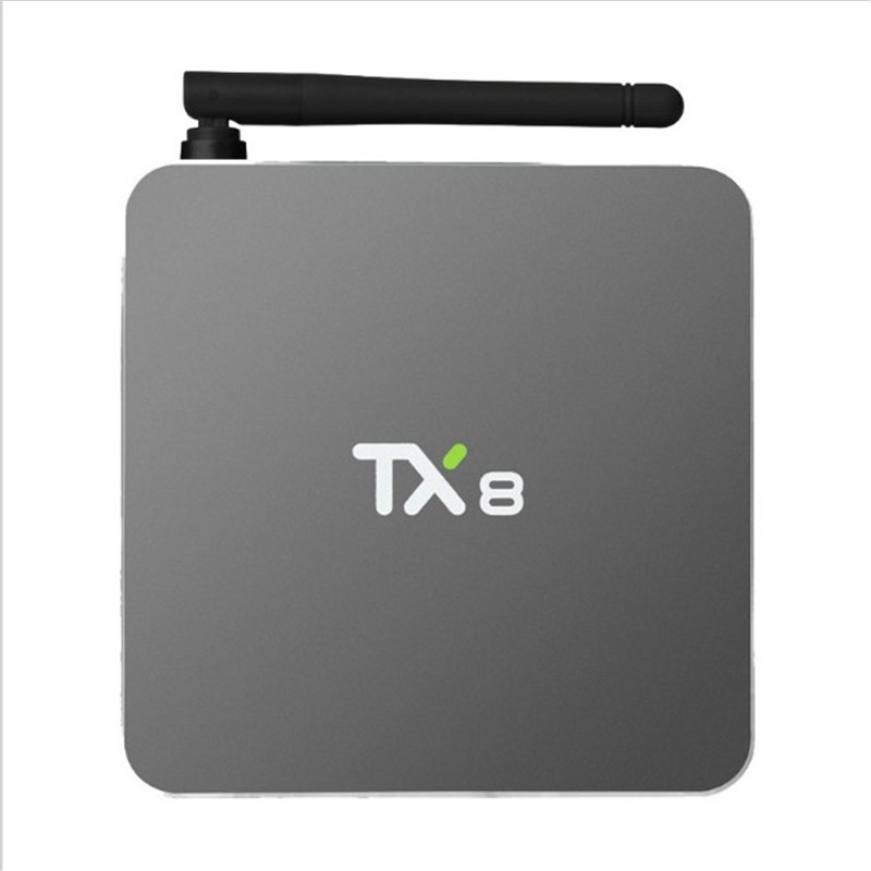 New 5PCS New TX8 Android 6.0 Amlogic S912 Octa core Set top box 2G 32G Android TV Box HDMI H.265 WIFI Media Player Smart tv box 10pcs lot new csa90 andriod 5 1 smart tv box octa core rk3368 2g 16g 4k hdmi 2 0 with remotecontrol