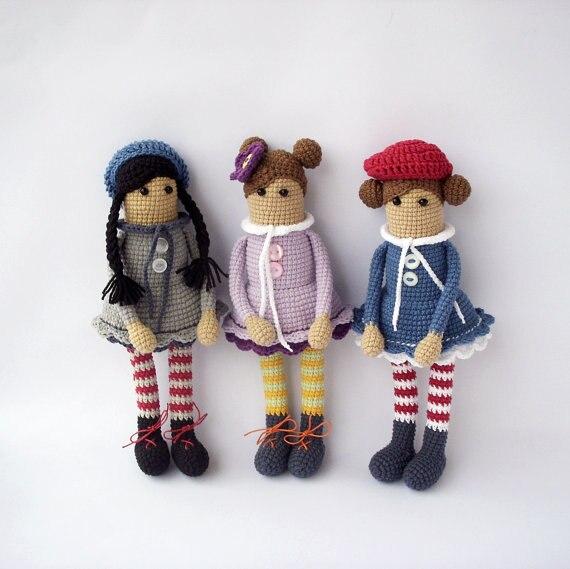 Häkeln Puppe Amigurumi Dolly Nette Puppe Häkeln Spielzeug Puppe
