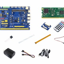 Raspberry Pi Compute Module 3 Development Kit Type A with Compute module 3, DS18B20, Power Adapter, Pi Zero Camera cable