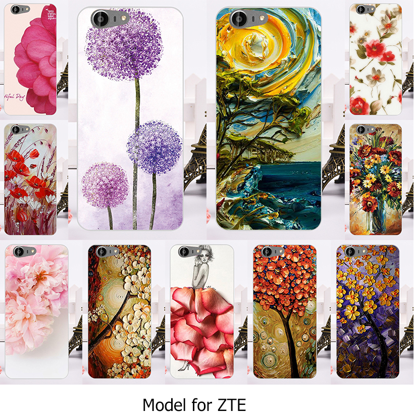 Phone Case For ZTE Blade A512 A506 Z10 Case Hard Axon 7 Mini Back Cover Plastic PC Ladies' Cell Phone Shell Housing