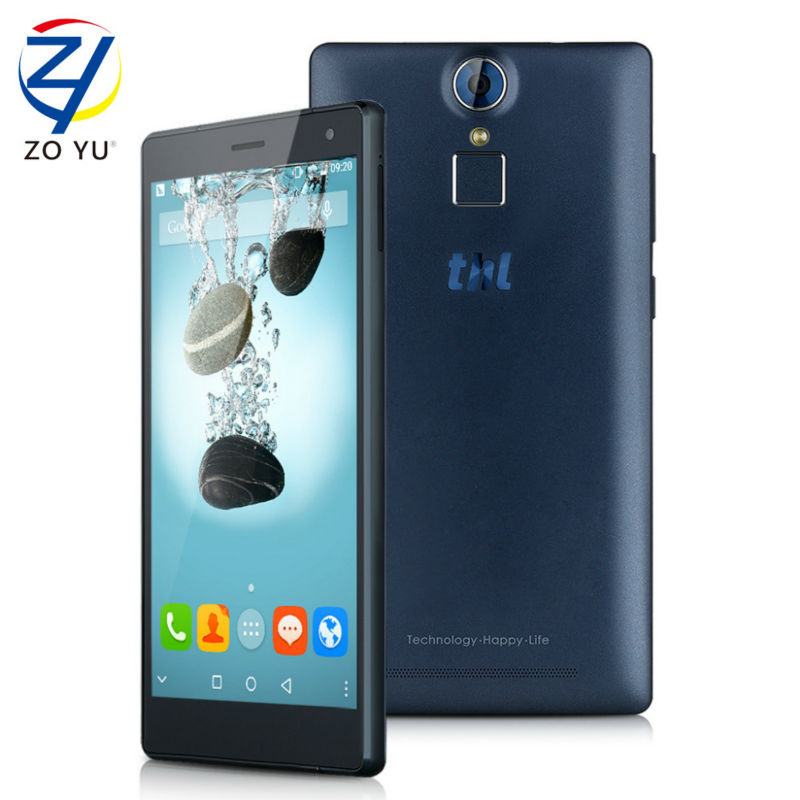 Original thl t7 android 5.1 teléfono inteligente fdd4g mtk6753 ram 16G ROM 5.5 P