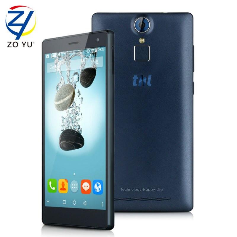 bilder für Ursprüngliche thl t7 android 5.1 mtk6753 smartphone fdd4g ram 16G ROM 5,5 Zoll HD Handy 4800 mAh Anti-fingerprint-handy-bildschirm telefon