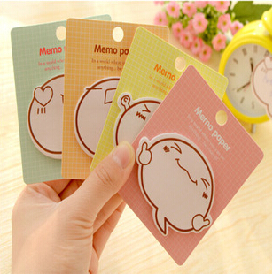 New Funny Cartoon Expression designs Notepad/Memo pad/Paper sticky note/sticker message post