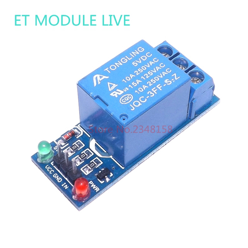 1pcs 5V low level trigger One 1 Channel Relay Module interface Board Shield For PIC AVR DSP ARM MCU Arduino 1 channel 5v relay module high level trigger expansion board for arduino relays