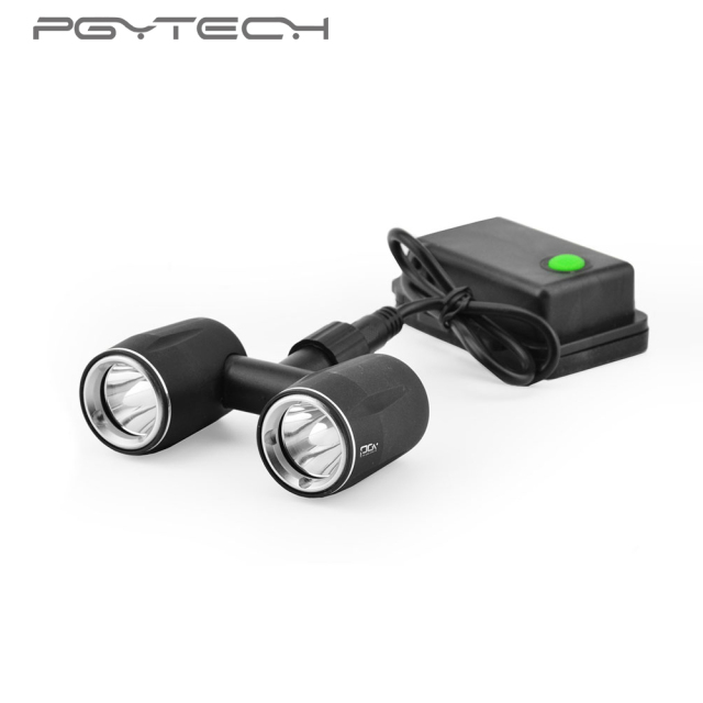 Luxury PGYTECH DJI Inspire 1 Accessories headlamp LED light Drone Flash Lights Fresh - Popular led light accessories Trending