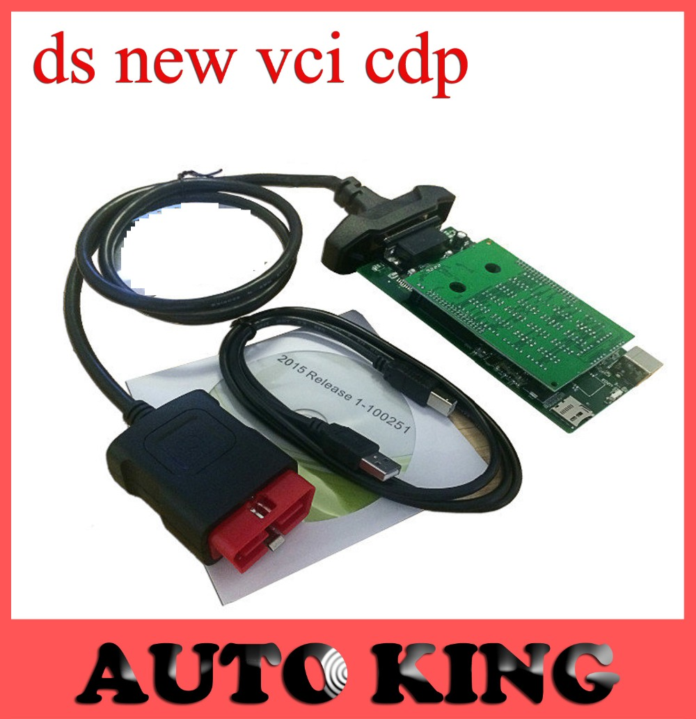 with Green Nec relays ds new vci CDP no bluetooth function tcs cdp pro multi brand
