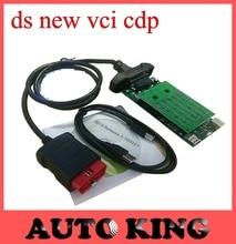 Con Verde Nec relés ds nueva vci tcs CDP + no bluetooth función cdp pro multimarca obd obd2 scan herramienta de trabajo para coches camiones 3in1
