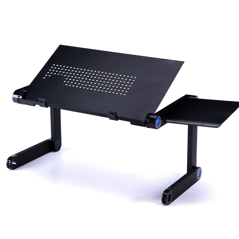 2018 Laptop Desk 360 Degree Adjustable <font><b>Folding</b></font> Laptop <font><b>Notebook</b></font> PC Desk <font><b>Table</b></font> Stand Portable Bed Tray ALL-3 image