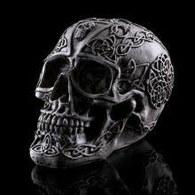 Модель черепа, товары для медицинских исследований, форма скелет для Хэллоуина, украшение для дома, офиса, подарки, детские игрушки, форма для изготовления черепа