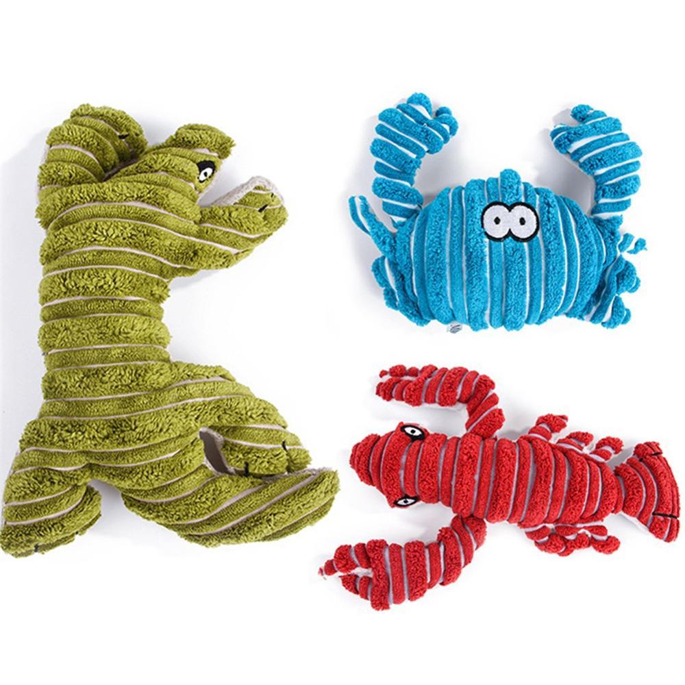 1 Pc Pluche Speelgoed Hond Speelgoed Bite Resistant Cleaning Tanden Hond Chew Puppy Speelgoed Cartoon 16 Stijlen Dier Huisdier Speelgoed Voor Honden Duurzame Service