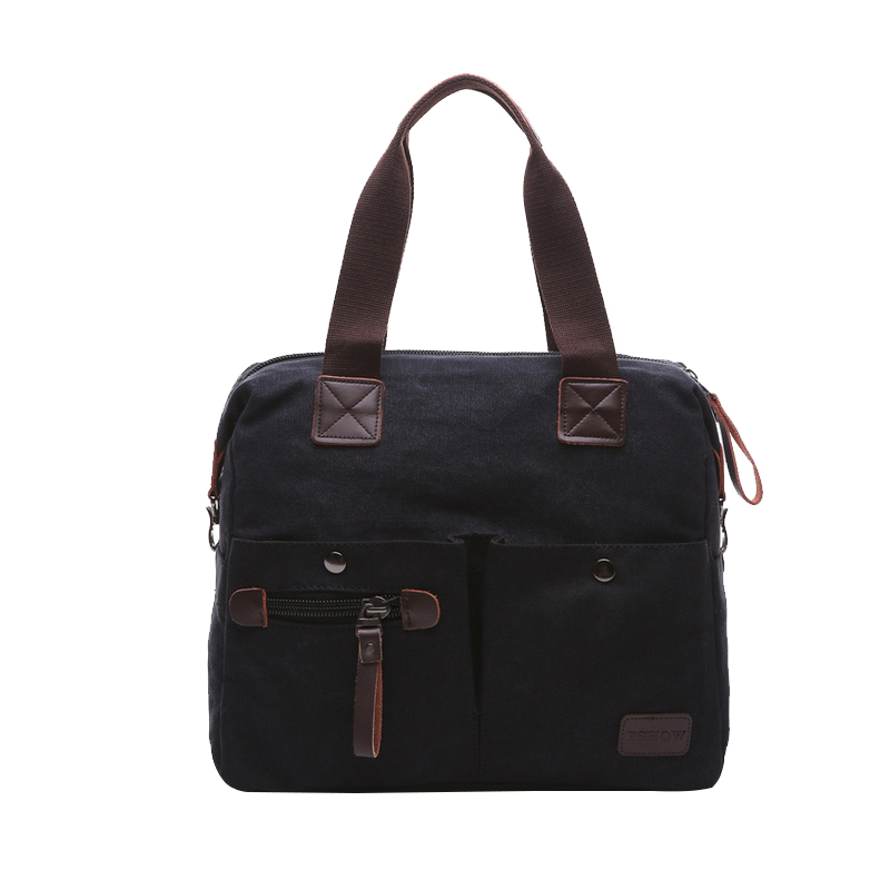 ФОТО multicolor  Brand Design Laptop Bag Casual Tote For High Quality Men Canvas Tote Bag