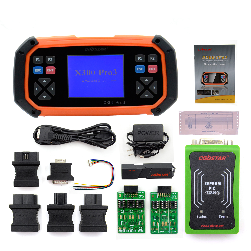 Image 5 - OBDSTAR X300 PRO3 Key Master with Immobiliser + Odometer Adjustment +EEPROM/PIC+OBDII DHL Free Shipping-in Auto Key Programmers from Automobiles & Motorcycles