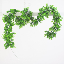 1x190cm Artificial Fake Ivy Silk Hanging Vine Green Plant Leaf Rattan Wall Decors