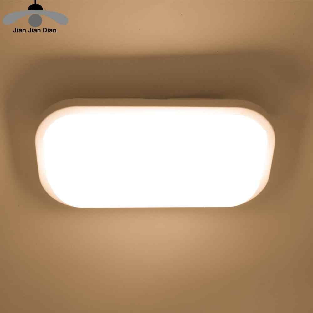 Led Ceiling Light Lamp Surface Mounted Lighting Fixture 15W 20W Bathroom Living Room Kitchen 110V 220V IP65 Waterproof Outdoor