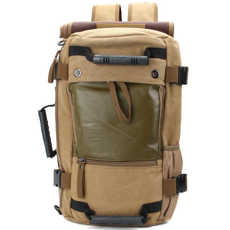 FUYIDU Для мужчин рюкзак дорожная сумка большая Ёмкость универсальная утилита Альпинизм Многофункциональный Водонепроницаемый рюкзак Luggagebag