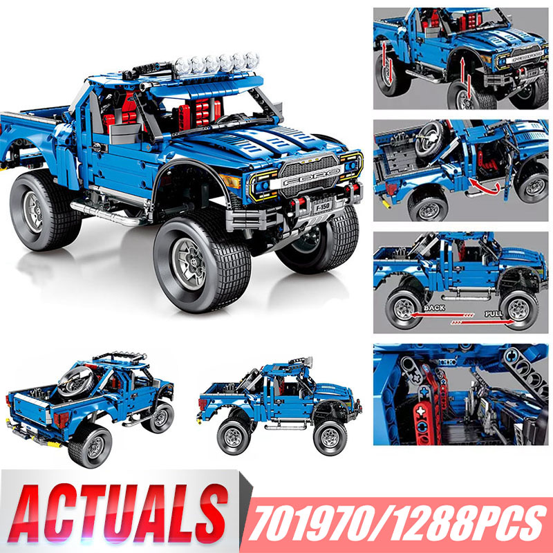 Technic classique F-150 Kits de ramassage Raptor modèle blocs de construction Set jouets pour enfants Compatible avec la marque L