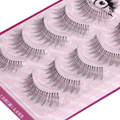 Handmade Natural False Eyelashes Black Thick Long Wimpers Mink Lashes Makeu Heath Eyelash Extension Faux Cils Beauty Tool S-14