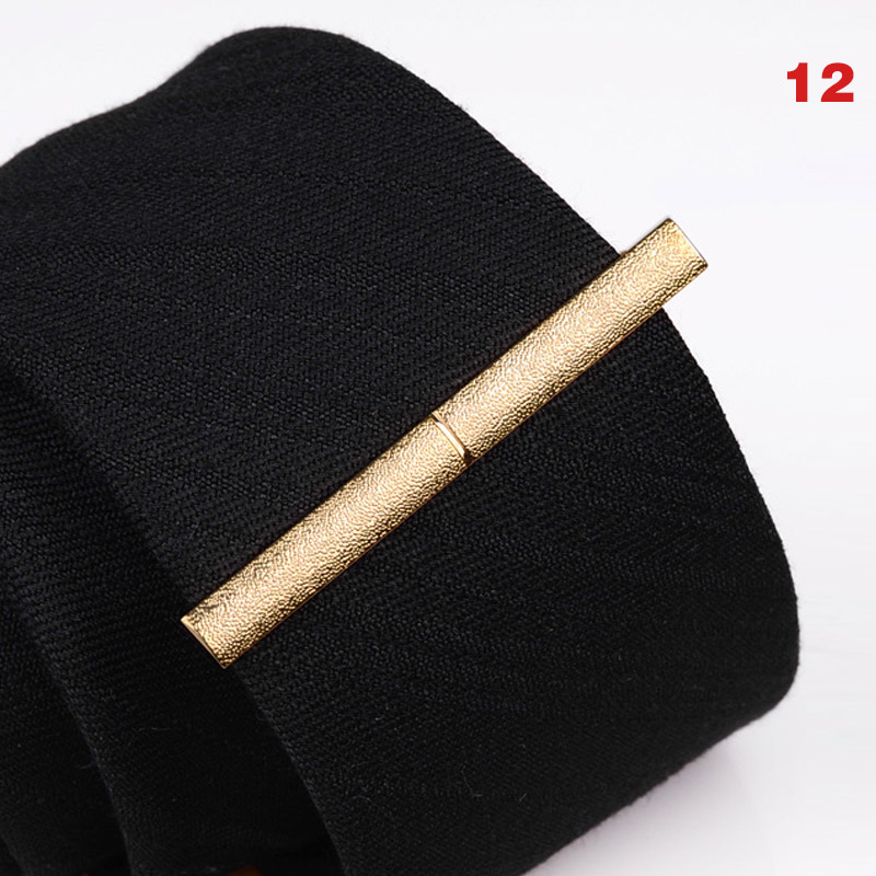 New Men Metal Alloy Tie Clip Clamp Necktie Bar Clasp Wedding Bridegroom Business Fashion Formal Gifts VN 68