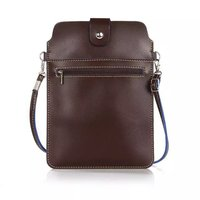 6 Colours Double Pockets Messenger Bag with Belt Leather Pouch Wallet Case Cover For LG G2 G5 G3 G4 mini G4C G3s 8.0