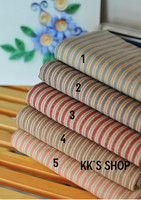 Handmade Cloth DIY Patchwork Material Fabrics Dyeing Group First Group Washed Navy Stripe Cotton Cloth