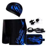C17 Free Shipping Ping Angle Hot Spring Large Bath Swim Suit Five Sets Swim Trunks Swimming