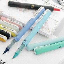 Japan Kuretake COCOIRO Calligraphy Pen Refill Brush Pen Filling Creative Student stationery Supplies Marker Pen