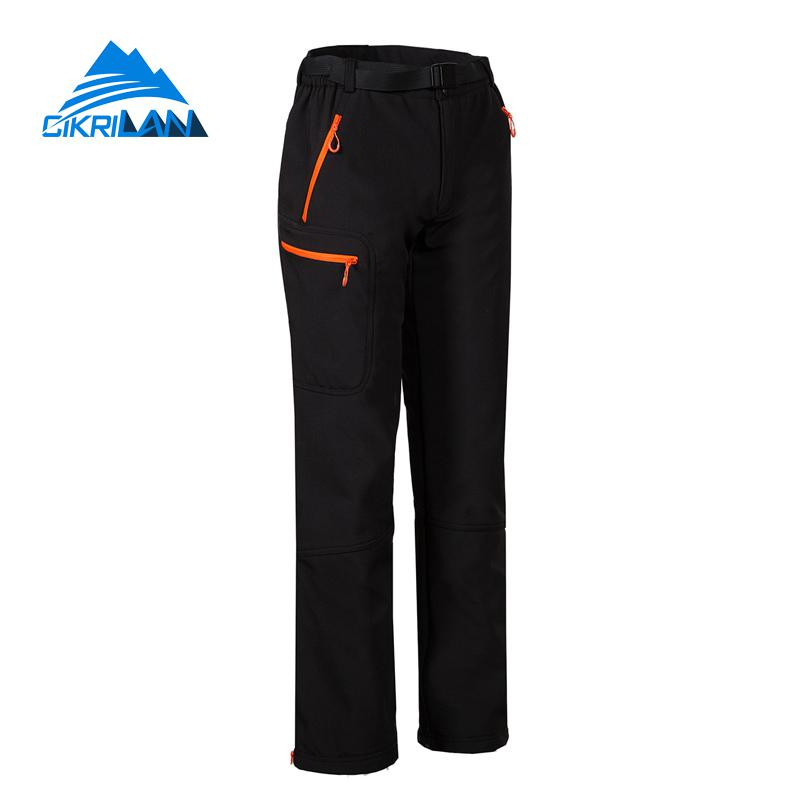 Womens Windproof Water Resistant Sports Pantalones Mujer Outdoor Softshell Hiking Pants Women Trekking Climbing Camping Trousers