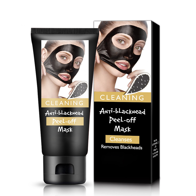 Black Mask Face Mask Blackhead Remover Cleansing Purifying the Black Head Acne Treatments Face Mask Skin Care