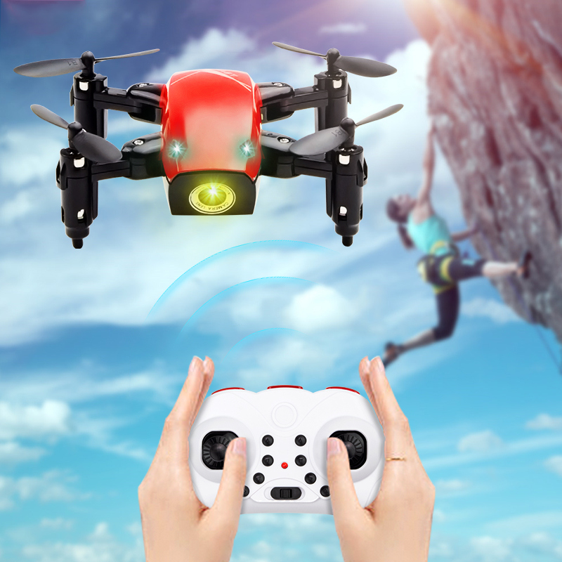 S9 S9HW Mini RC Drones With Camera HD Foldable RC font b Quadcopter b font Altitude
