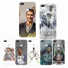 Cristiano Ronaldo CR7 Football Pattern Design Soft Silicone Phone Cases Cover for  huawei Honor 10 lite 8 9