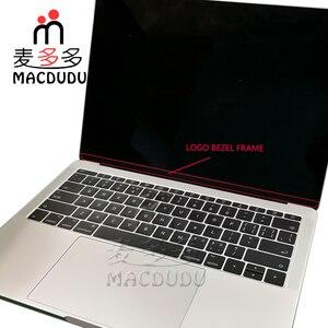 """Image 2 - Yeni LCD ekran ekran ön çerçeve kapak çerçeve ile Logo değiştirme için 13 """"MacBook Pro A1706 A1708 2016 2017"""