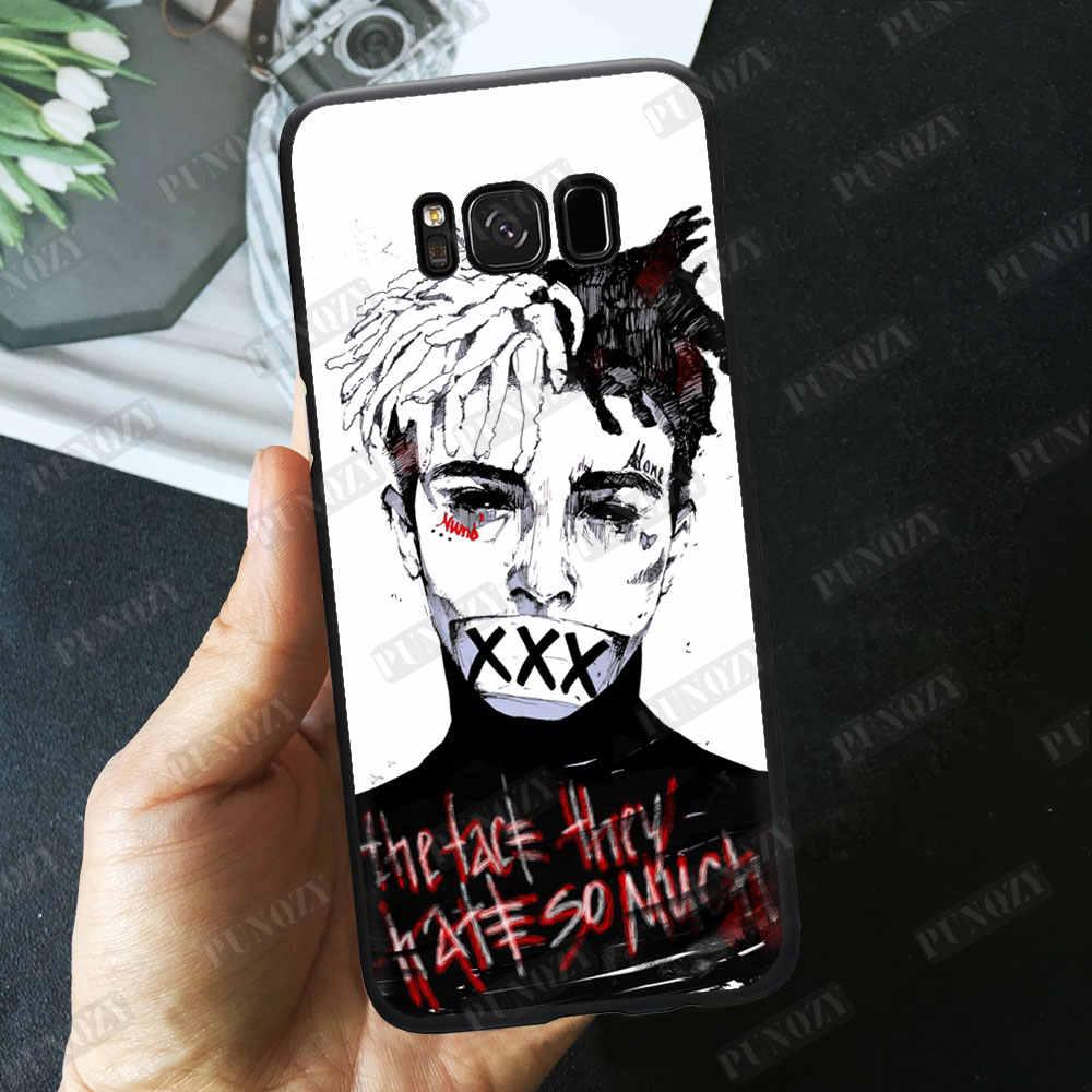 ... Rapper XxxTentacion Cartoon Lil Pump Wallpaper art Phone Case For Samsung S6 S7 edge S8 S9 ...