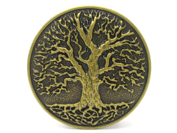 இNew arbre de Bronze de la vie de la ceinture de boucle - a484 f42f4eae03e