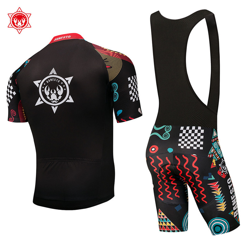 2018 Team Pro Cycling Jersey set Banesto Cycling Clothing Rock Racing Bike  Cycling Wear Ropa Ciclismo MTB Bike Clothing-in Cycling Sets from Sports ... 6ce82879d